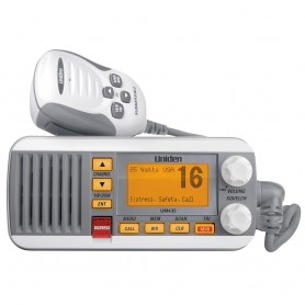 Uniden UM435 Fixed Mount VHF Radio - White