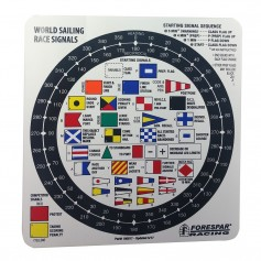 Forespar Nash 207 Racing Signal Flag Label