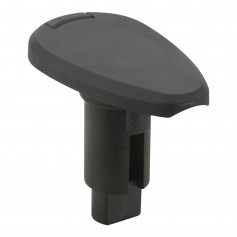 Attwood LightArmor Plug-In Base - 3 Pin - Black - Teardrop