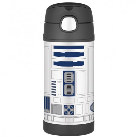 Thermos FUNtainer Stainless Steel- Insulated Straw Bottle - Star Wars - 12 oz-