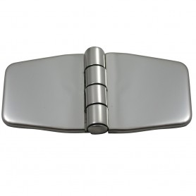 Southco Stamped Covered Hinge - 316 Stainless Steel - 1-4- x 3-