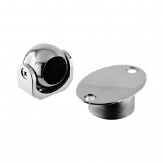 Southco Magnetic Door Window Holder - 316 Stainless Steel - Flush