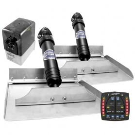 Bennett 1212ATP Hydraulic Trim Tabs w-Auto Trim Pro