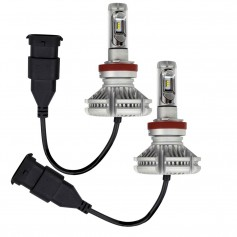 HEISE H11 LED Headlight Kit - Single Beam - Pair