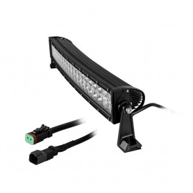 HEISE Dual Row Curved LED Light Bar - 22-