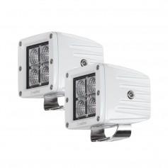 HEISE 4 LED Marine Cube Light w-Harness - 3- - 2 Pack