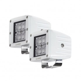 HEISE 6 LED Marine Cube Light w-Harness - 3- - 2 Pack