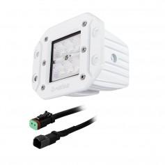 HEISE 6 LED Marine Cube Light - Flush Mount - 3-