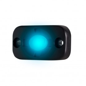 HEISE Auxiliary Accent Lighting Pod - 1-5- x 3- - Black-Blue