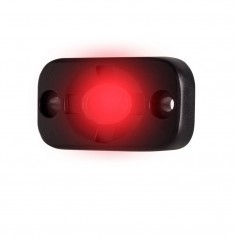 HEISE Auxiliary Accent Lighting Pod - 1-5- x 3- - Black-Red