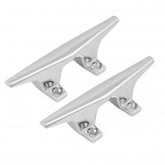 Attwood ZAMAK Chrome Plated Zinc Cleats - Pair - 4-1-2-