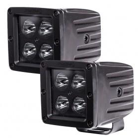 HEISE Blackout 4 LED Cube Light - 3- - 2 Pack