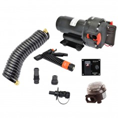 Johnson Pump Aqua Jet WD 3-5 GPM- 12V Pump Kit