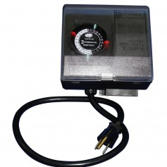 Ice Eater by Power House P1101 Timer - 2 On-Off Settings Per Day w-2 Set Trippers -120V - 60Hz
