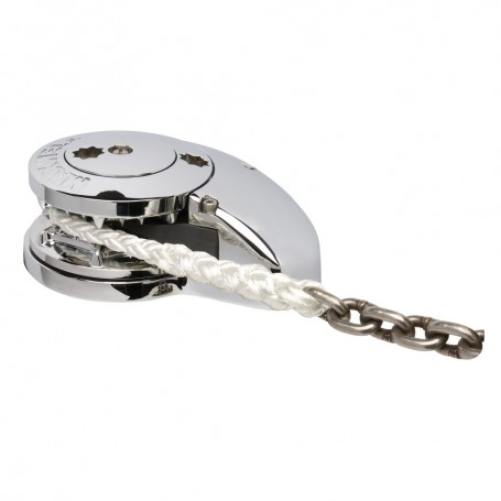 Maxwell RC10-8 12V Automatic Rope Chain Windlass 5-16- Chain to 5-8- Rope