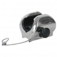 TACO Concave Deck Hinge w-Pin Lanyard - Fits 7-8- Tube