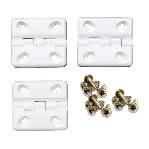 Cooler Shield Replacement Hinge f-Coleman Rubbermaid Coolers - 3-Pack