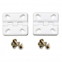 Cooler Shield Replacement Hinge f-Coleman Rubbermaid Coolers - 2 Pack