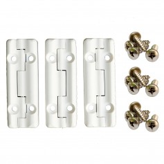 Cooler Shield Replacement Hinge For Igloo Coolers - 3 Pack