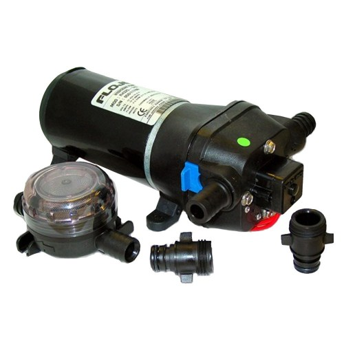 FloJet Heavy Duty Deck Wash Pump - 40psi-4-3GPM-12V