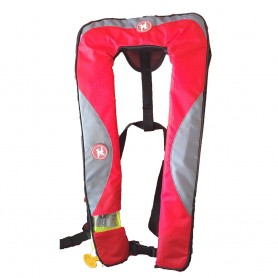 First Watch 24 Gram Inflatable PFD - Automatic - Red-Grey