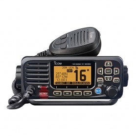 Icom M330 Compact VHF Radio w-GPS - Black