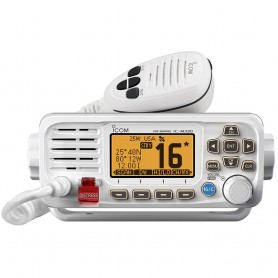 Icom M330 Compact VHF Radio w-GPS - White