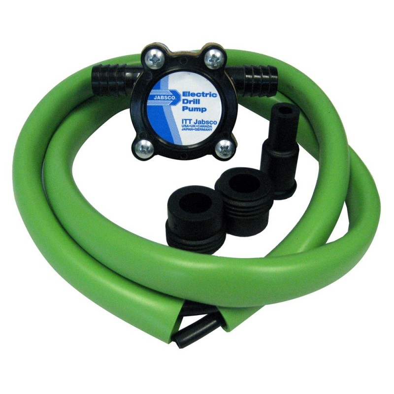 Jabsco Drill Pump Kit w-Hose