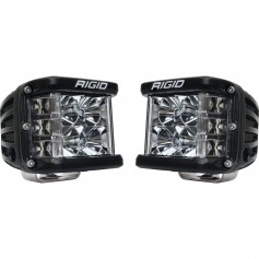 RIGID Industries D-SS Series PRO Flood LED Surface Mount - Pair - Black