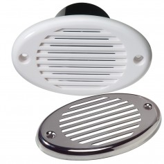 Innovative Lighting Marine Hidden Horn - White w-Stainless Steel Overlay
