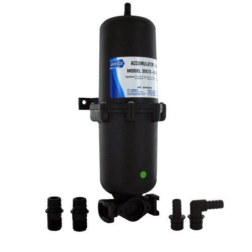 Jabsco 1L Accumulator Tank w-Internal Bladder