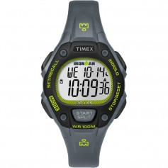 Timex IRONMAN Classic 30 Mid-Size Watch - Grey-Lime-Black