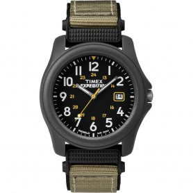 Timex Expedition Camper Nylon Strap Watch - Black