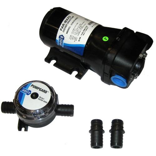 Jabsco PAR-Max 3 Shower Drain Pump 12V 3-5 GPM