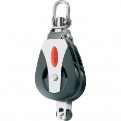Ronstan Series 40 Ball Bearing Block - Double - Becket - Swivel Head
