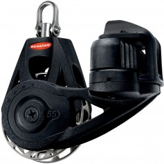 Ronstan Series 55 Ratchet Mount Orbit Block - Single Cleat Swivel - Auto