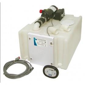 Jabsco Waste Management System w-Holding Tank - 12V Pump