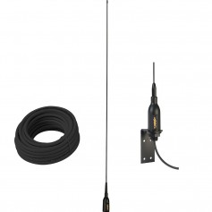 Glomex AIS Antenna w-Supplied -L- Bracket 66 Coax Cable