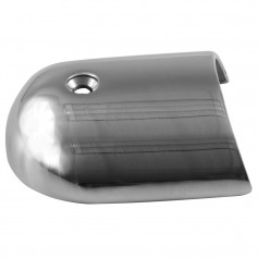 TACO Rub Rail End Cap - 1-7-8- - Stainless Steel