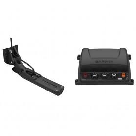 Garmin GCV 20 Ultra HD Scanning Sonar Black Box w-GT34UHD-TM Ultra HD Transom Mount Transducer