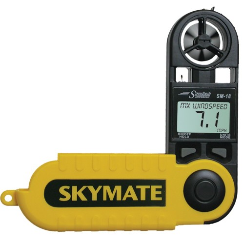 WeatherHawk SM-18 Skymate Wind Meter w-Temp - Wind Chill