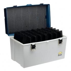 Plano Big Game Tackle Box - Silver-Blue Metallic