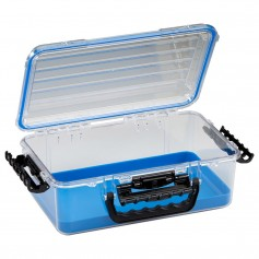 Plano Guide Series Waterproof Case 3700 - Blue-Clear