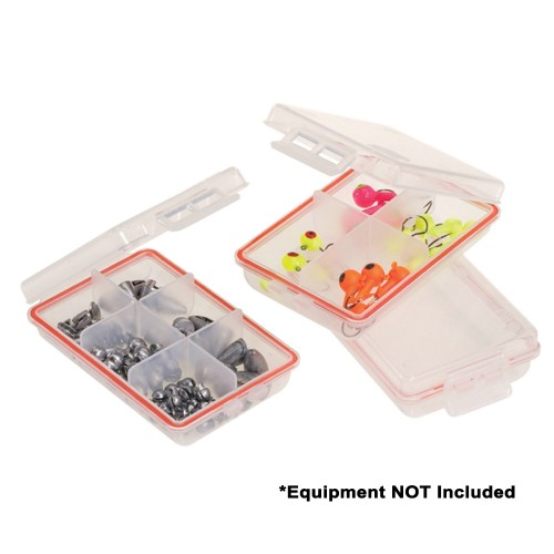 Plano Waterproof Terminal 3-Pack Tackle Boxes - Clear