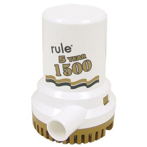 Rule 1500 G-P-H- -Gold Series- Bilge Pump