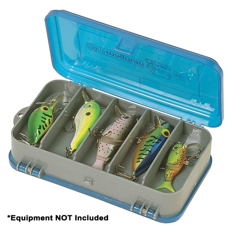 Plano Double-Sided Tackle Organizer Small - Silver-Blue