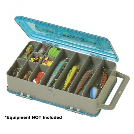 Plano Double-Sided Tackle Organizer Medium - Silver-Blue