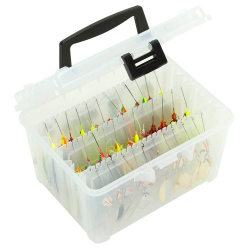 Plano Hydro-Flo Spinnerbait Box - Clear