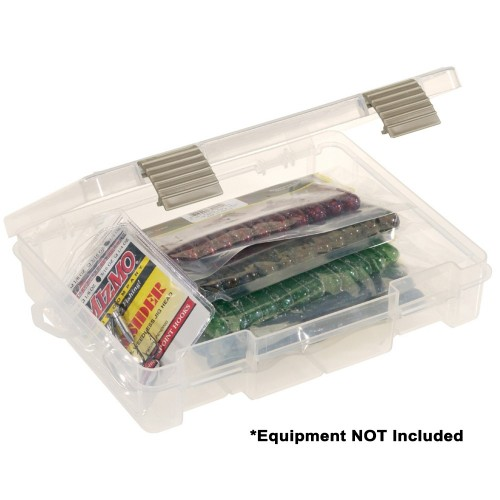 Plano ProLatch Open-Compartment Stowaway Half-Size 3700 - Clear