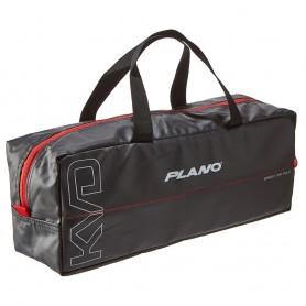Plano KVD Wormfile Speedbag Large - Holds 40 Packs - Black-Grey-Red